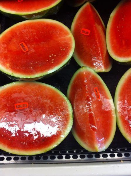 mmm, boneless watermelon