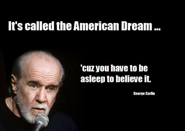 george carlin, american dream
