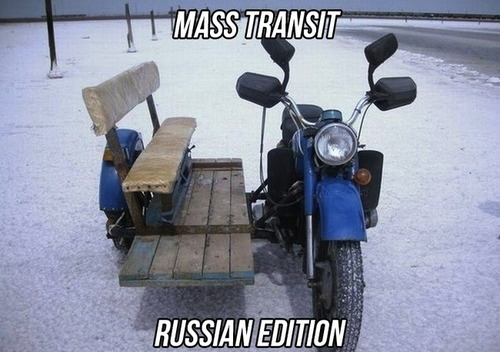 mass transit russian edition, motorcycle bench, wtf, meme