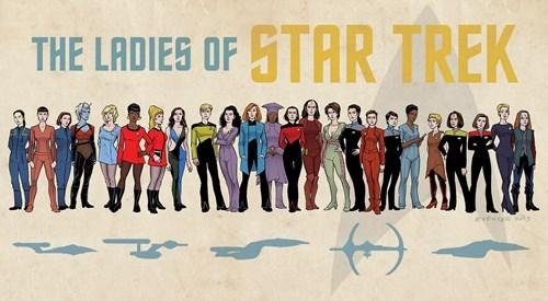 star trek, series, movies, actresses, women
