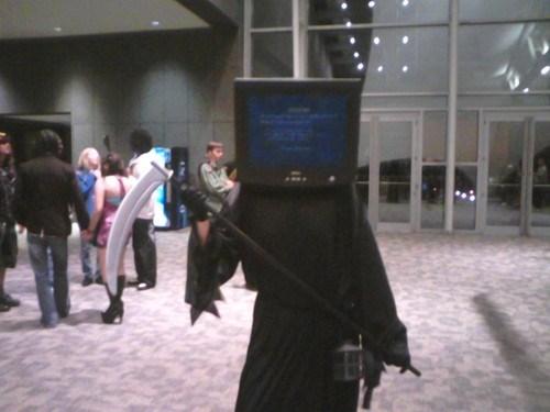 bsod, blue screen of death, costume, windows, lol