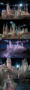 harry potter, movie set, props, hogwarts, building, school