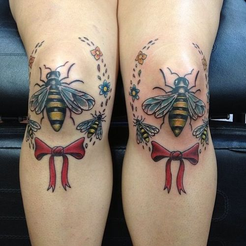 bees knees, tattoo, literal, win
