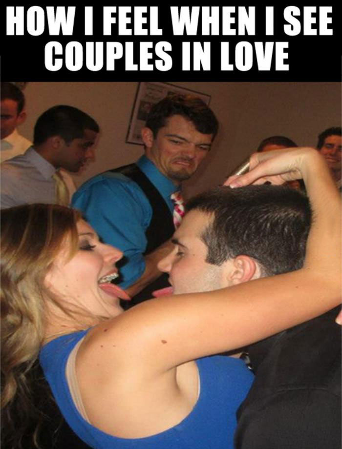 couples in love, how i feel, photobomb, face, lol, disgust