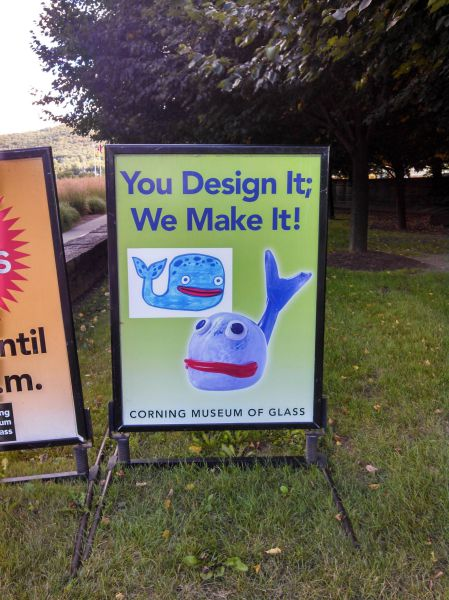 design, make it, fail, whale, sign, poster