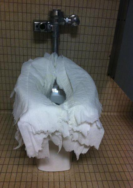bathroom, wtf, toilet paper, overkill