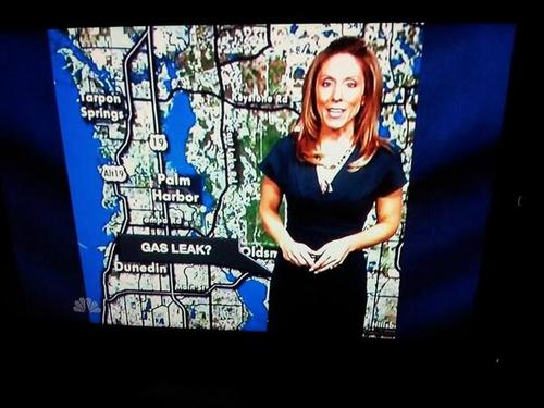 perspective, weather reporter, news, gas leak