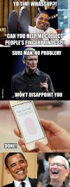 meme, fingerprints, iphone, true story, apple, iphone