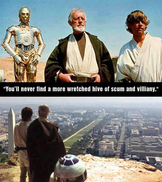 star wars, hive of scum and villainy, washington