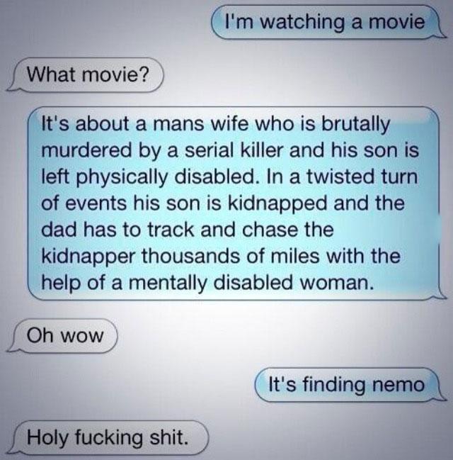 finding nemo, description, movie, disney, pixar, iphone