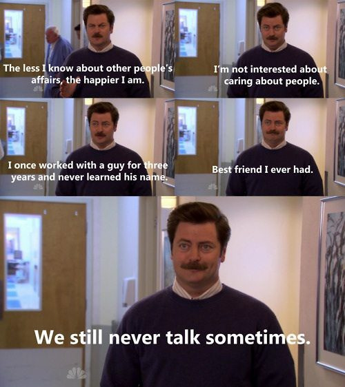 man, comic, best friend ever, we still never talk sometimes