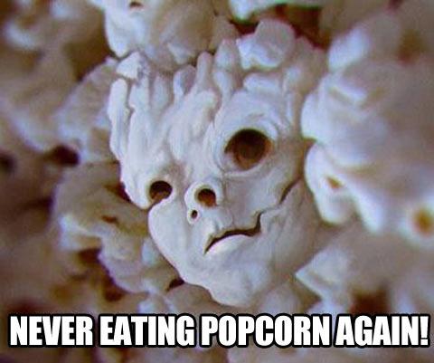 popcorn, face, meme, lol, wtf