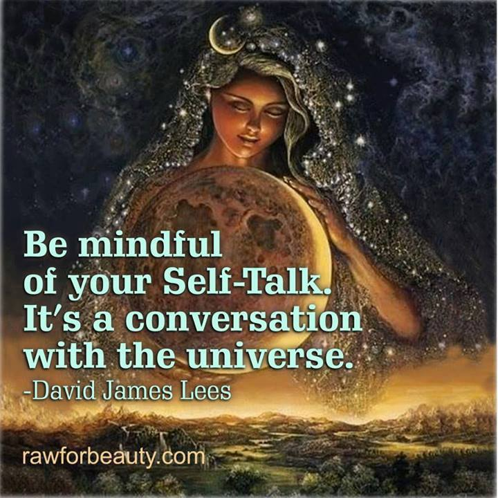 self talk, conversation for the universe, quote, david james lees
