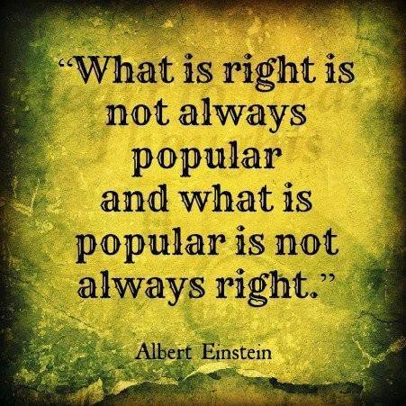 einstein, quote, popular, right, wrong