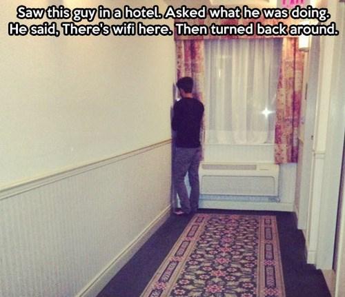 hotel, free wifi, corner, lol
