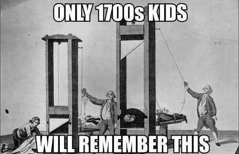1700s kids will remember this