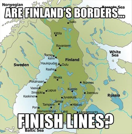 pun, wordplay, finnish borders, map