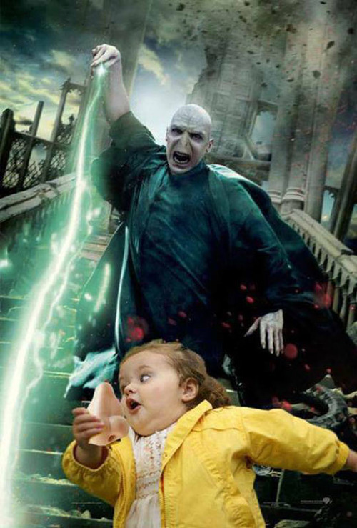 bubbles girl, tom hardy, voldemort