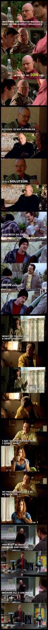 walter white, breaking bad, bad chemistry jokes