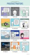 which procrastinator are you?, comic, meme, lol