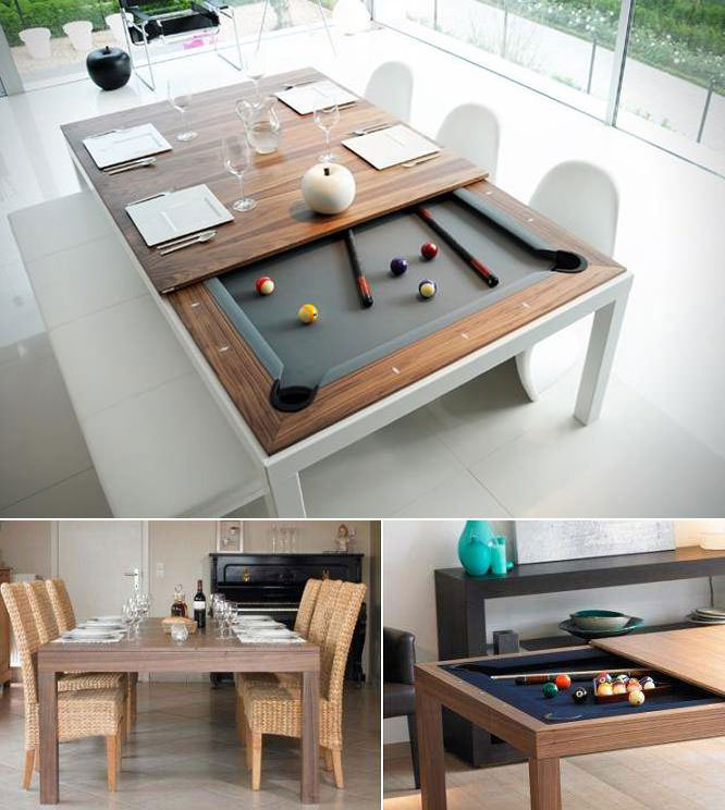 pool table, design win, dinner table, billiards