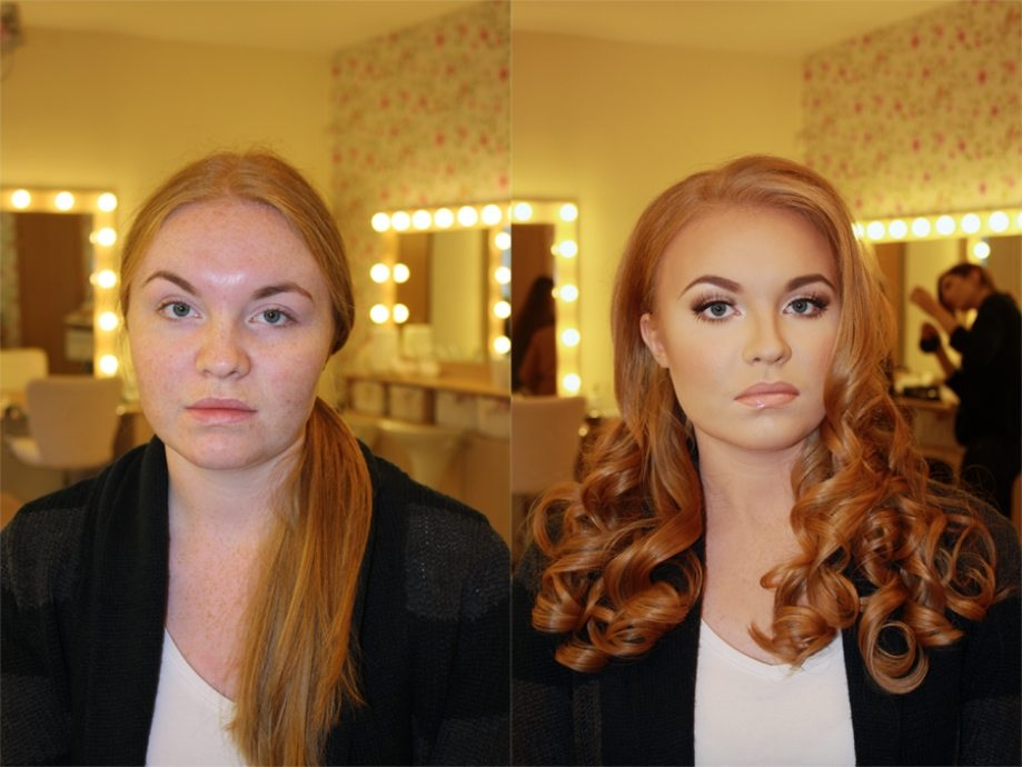 makeup, model, before and after, wow,