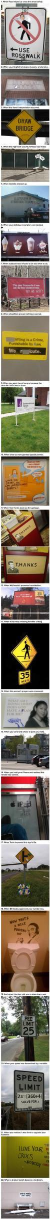 22 times when vandalism won