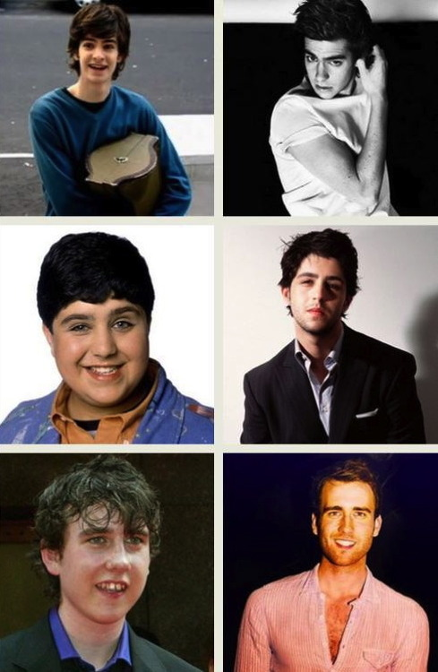 harry potter, actors, then and now