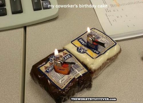 worst birthday cake ever