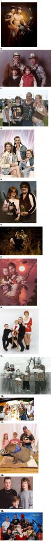 redneck family portraits, compilation, lol