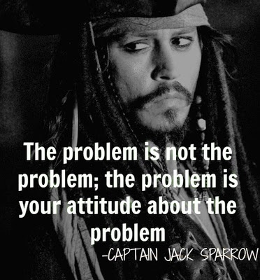 captain jack sparrow, problem, attitude