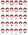 a guide to facial hair, mario, beard, mustache,