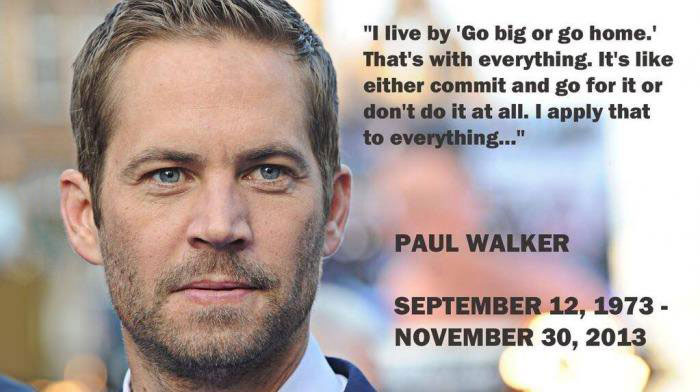 paul walker, rip, actor, fast and the furious