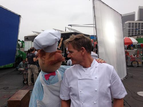 gordon ramsay, swedish chef from the muppets