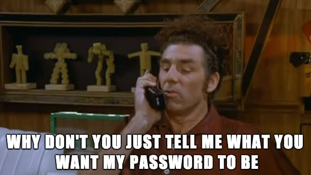 seinfeld, kramer, movie hotline, why don't you tell me what movie you want to see