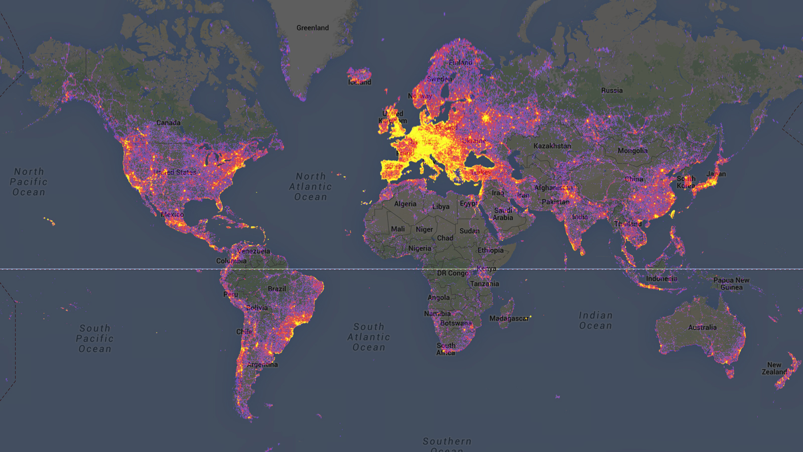the most photographed places in the world, google maps' panoramio, 2013