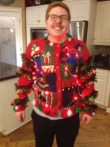 Terrible christmas sweater