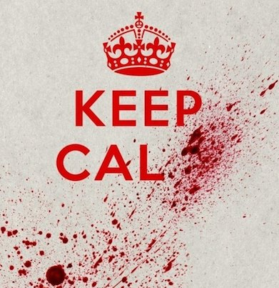 keep calm, meme, blood spatter