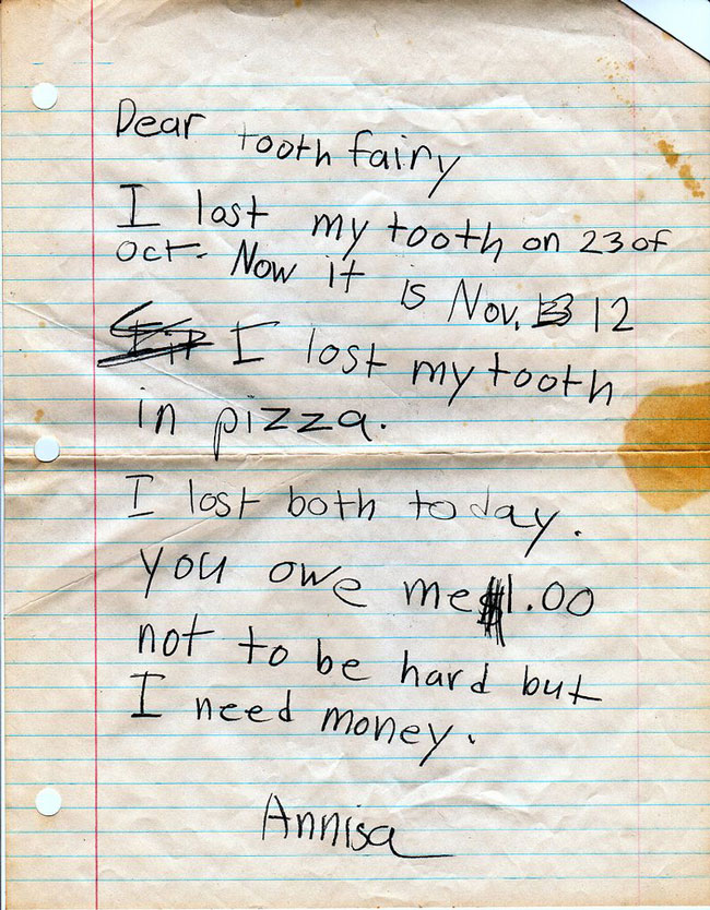 30 kids who wrote the meanest notes ever