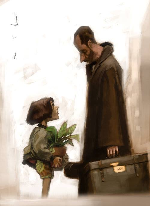 leon the professional fan art