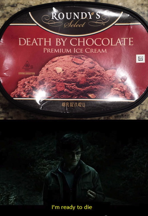 best flavor ever, death by chocolate ice cream, roundy's, product, i'm ready to die