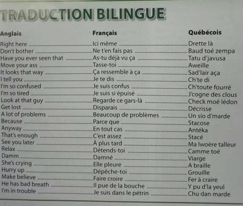 English And Francais Image - JustPost: Virtually entertaining