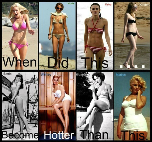 when did this become hotter than this, lol, women