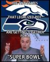 the two statesthat legalized marijuana are getting together for a super bowl, dr evil