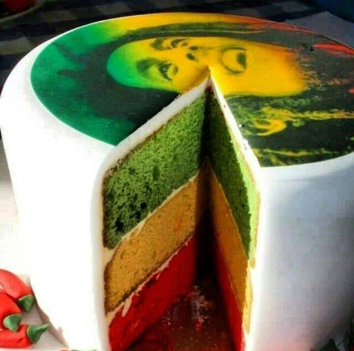 Astonishing Bob Marley Cake Justpost Virtually Entertaining Personalised Birthday Cards Veneteletsinfo