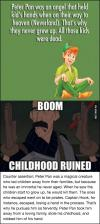 peter pan and my childhood is completely ruined!