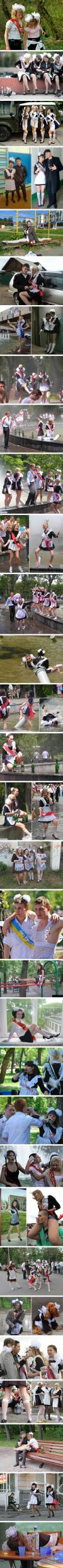 russian high school graduation is the most epic thing you'll ever see