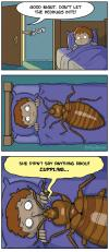 don't let the bed bugs bite, comic
