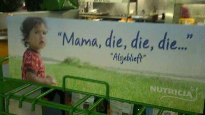 mama die die die, european advertising