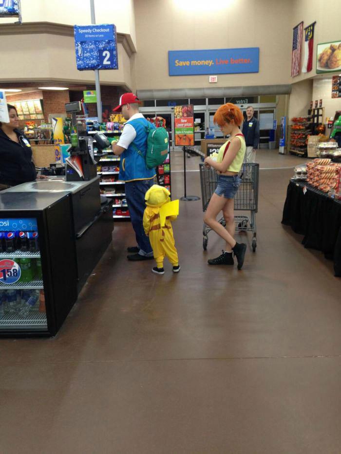 pokemon cosplay, family